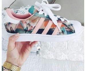 adidas, rosa, and estampa image