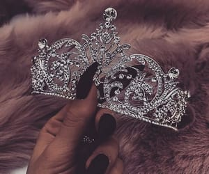crown, accessories, and girly image