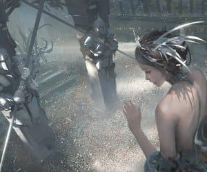 fantasy, princesse, and elfe image