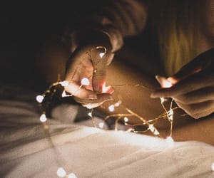 aesthetic, fairy, and fairylights image