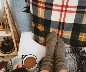autumn, cozy, and coffee image