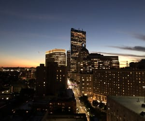adventures, boston, and lights image