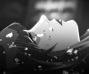 anime, gif, and white image