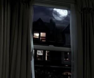 moon, night, and room image
