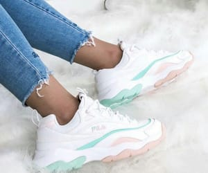 pastel and sneakers image