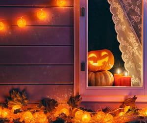 background, desktop, and Halloween image