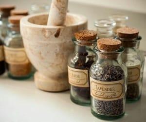 magic, bottle, and lavender image