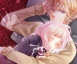 diabolik lovers, anime, and couple image