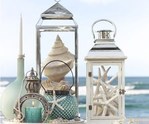 sea, blue, and beach image