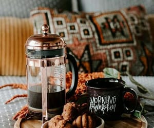 autumn, coffee, and Cookies image