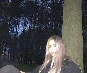 aesthetic, lilac hair, and pastel goth image