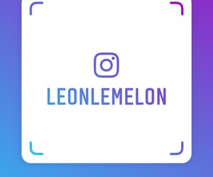 name tag, follow me, and instagram image