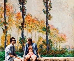 monet, oliver, and call me by your name image