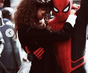 Marvel, spiderman, and tom holland image