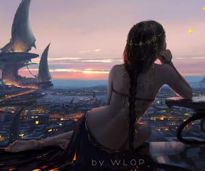 fantasy, elfe, and wrop image