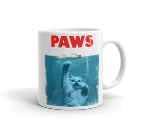 etsy, pawprint, and cat cup image