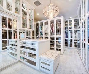 closet, luxury, and home image