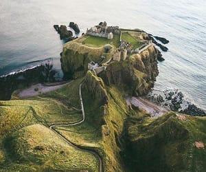 scotland, nature, and castle image