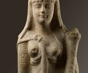 ancient egypt, sculpture, and cleopatra image