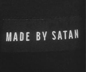 satan, grunge, and black image