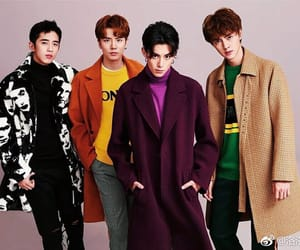 boy, F4, and meteor garden image