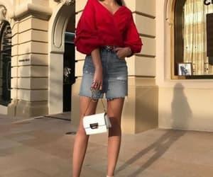 fashion, model, and bag image