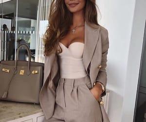 fashion, happy, and smile image
