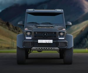 car, mercedes, and g wagon image