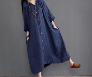 etsy, maxi dress, and maternity dress image