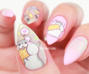 beauty, hamster, and nail image