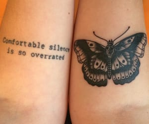 tattoo, butterfly, and louis tomlinson image