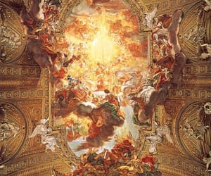 art, travel, and ceiling image