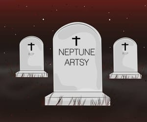 arte, dead, and drawing image
