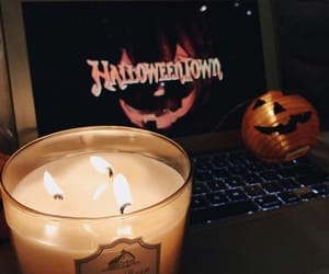 Halloween, autumn, and candle image