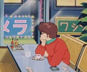 anime, aesthetic, and 90s image