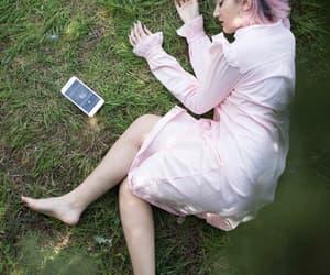 cellphone, nature, and edicion image