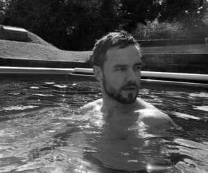 black and white, liam payne, and boy image