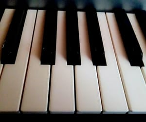 music, piano, and Teclado image