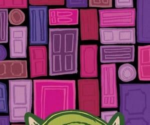 disney, door, and monster image
