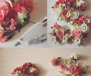 diy, do it yourself, and Fleurs image