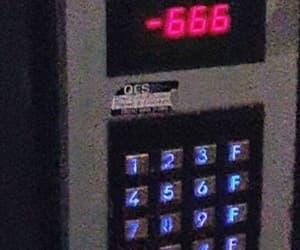 666, dark, and Devil image