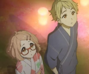 anime, festival, and kimono image