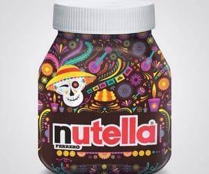 chocolate, dia de muertos, and nutella image