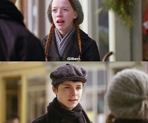 gilbert blythe, anne shirley, and anne with an e image