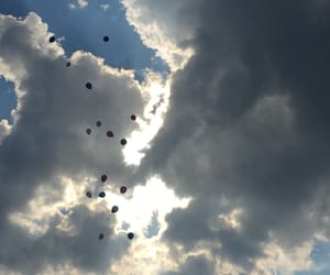 day and baloons image