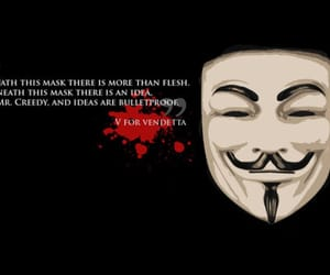 quotes, v for vendetta, and mask image