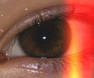 aesthetic, brown, and eye image