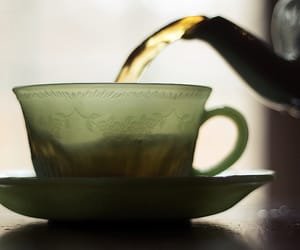 tea and green image