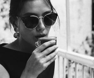 black and white, coffee, and neslihan atagül image