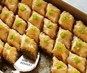 baklava, dessert, and sweets image